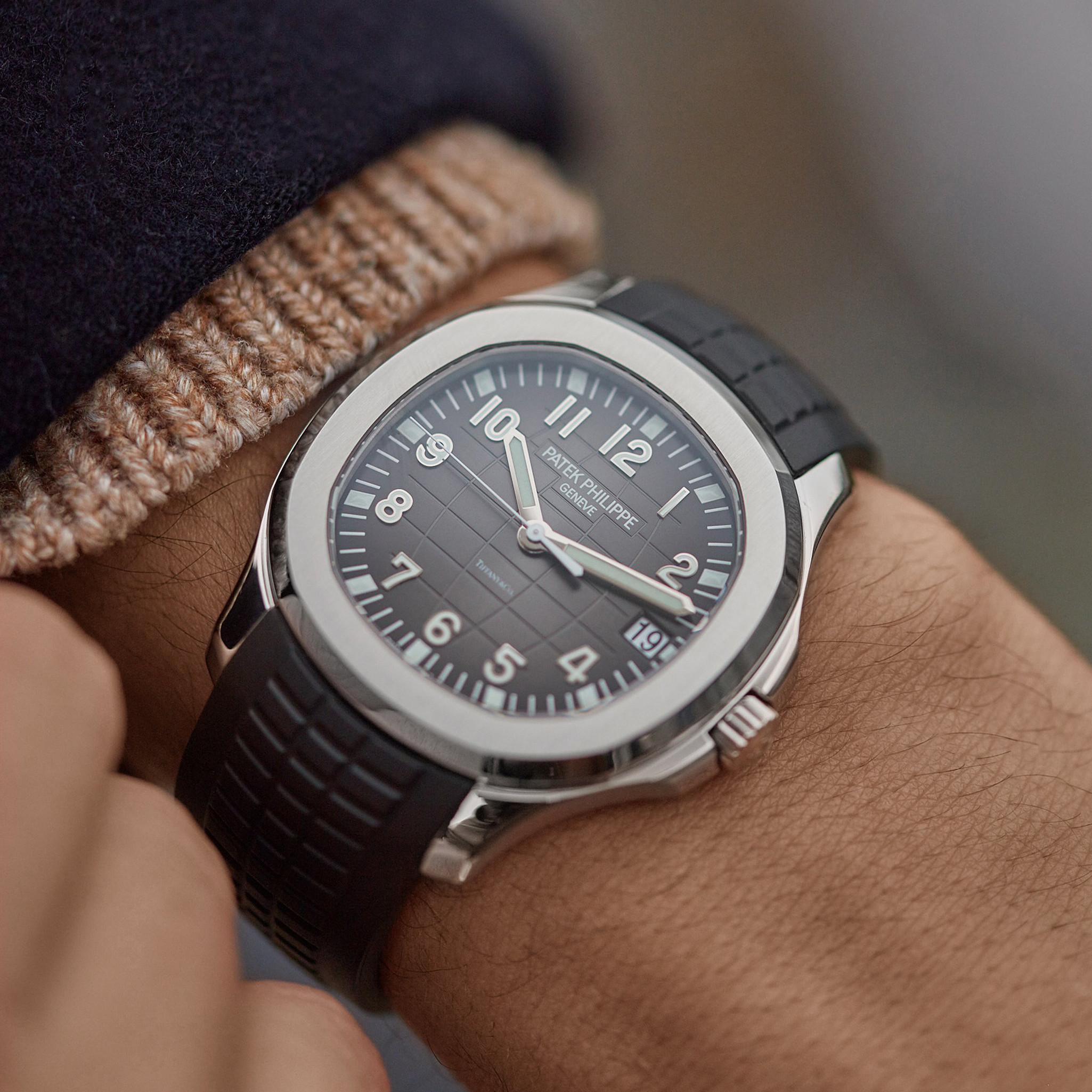 Patek Philippe Aquanaut 5167A Tiffany steel at A Collected Man London10